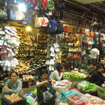 market in Siem Reap - they have everything here but nothing we want