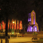 Sapa church by night