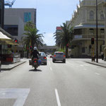 Perth is wie ausgestorben  -  you will never see Perth that empty again