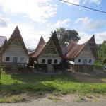 typisches Batakdorf - typical Batak vilage