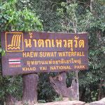 One of the waterfalls - einer der vielen Wasserfälle
