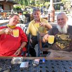Cider ist sehr erfrischend, wenns heiß ist  -  cider is very refreshing on a hot day