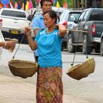 so sehen in Asien Einkaufskörbe aus - shopping baskets in Asia