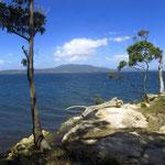 der Kanal zwischen Tassie und Bruny Island  -  the channel between Tassie and Bruny Island