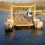 Anlegestelle der Fähre - ferry port