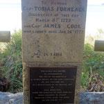 Adventure Bay, wo Captain Cook und andere wichtige Seefahrer halt gemacht haben