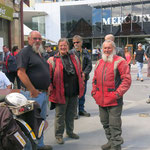 man trifft sich in Hobart  -  one meets up in Hobart