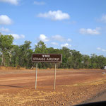 auf dem Weg nach Darwin  -  on the way to Darwin