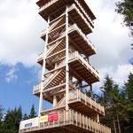 Alpenblick - Gemeinde Ulrichsberg - Böhmerwaldarena in Schöneben