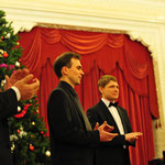 Андрей Большиянов, Андреас Медер и Денис Быстров. Фото: Денис Марковский