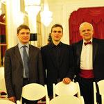Денис Быстров, Андреас Медер,Андрей Большиянов. Фото: Денис Марковский.