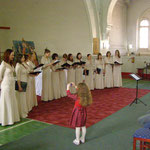"хор ""Cantarella"" на концерте-открытии фестиваля 22 апреля 2012 г. (фото Н.Володина)"