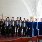 Участники концерта в Шведской церкви