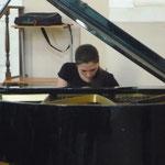 Наталия Рыбак на концерт фестиваля в Центре искусств (Невский 20) 26 апреля 2012
