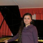 Янина Кийко (сопрано) на концерте в ДМШ №2 г.Выборг