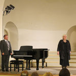 Хелена Странд, сопрано (Савонлинна, Финляндия) и Дмитрий Щирин , фортепиано (Санкт-Петербург, Россия) на открытии фестиваля.