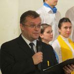 Дмитрий Щирин - художественный руководитль фестиваля и конкурса