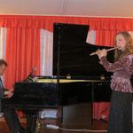 Фестивальный концерт в ДМШ №2 г. Выборг. исп. Анна Степанова и Дмитрий Щирин