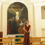 Ирина Ковальчук (Минск, Беларусь) на концерте закрытии конкурса в Петрикирхе.Фото Елены Мироновой