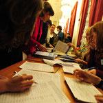 Регистрация участников.Фото : Денис Марковский.
