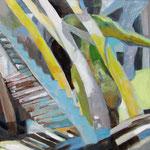 Unterwegs(Acryl auf Leinwand, 60 cm x 60 cm, 2010)