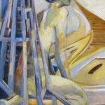 Wandel (Acryl auf Leinwand, 60 cm x 60 cm, 2010)