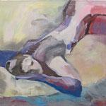 Traumpause (Acryl auf Leinwand, 60 cm x 60 cm, 2010)