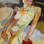 Loslassen (Acryl auf Leinwand, 60 cm x 60 cm, 2010)