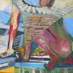Zweisamkeit (Acryl auf Leinwand, 60 cm x 60 cm, 2010)