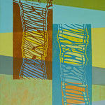 Laufbahn (Hochdruck auf Leinwand, Ölfarben, 80 cm x 120 cm, Unikat)