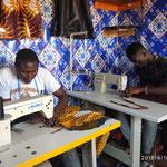 Een naaiatelier