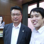 神奈川県行政書士会会長の田後隆二先生です。