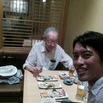 カリフォルニア大学、東北大学名誉教授の佐武一郎先生です。