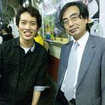 法政大学教授、東大名誉教授の桂利行先生です。