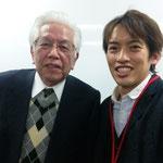 東大名誉教授の藤田宏先生です。「理解しやすい数学」「大学への数学」等の大学受験参考書でも有名な先生です。
