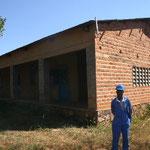 Das Frauenzentrum im Rohbau