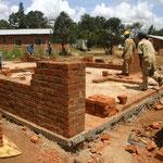 Construction d'une habitation des étudiants