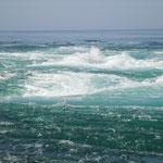 潮流は一瞬一瞬変り、渦が巻くと観潮船から歓声が上りました。               ・渦巻けば歓声上る観潮船(和良)