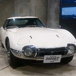 トヨタ博物館に展示されたトヨタ2000GTに私は見惚れていました。   ・涼風の如き名車でありにけり(和良)