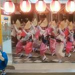 阿波踊りのない徳島の街はどこに行っても静かでした。   ・阿波踊なき徳島の静けさよ(和良)
