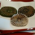 和田の屋で名物の抹茶と滝のやき餅をいただき、句会が始まりました。  ・やき餅を食べて始まる二月句座(和良)