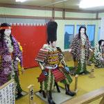 吉野川市の菊人形では今年の大河ドラマが三幕で展示されていました。 ・佇めば菊人形の香を放つ(和良)