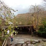 高松市の屋島にあるうどんの老舗「わら家」に行ってきました。     ・わら家なるうどんの老舗冬紅葉(和良)