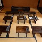 堺市立町家歴史館の清学院は江戸後期から明治初期の寺子屋になりました。・寺子屋の部屋に小春日暖かく(和良)