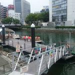 水の都・徳島市で評判のひょうたん島クルーズに乗船しました。        ・船遊皇居一周せし距離と(和良)