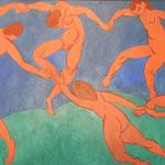 エルミタージュ美術館別館の軽快なマチスの「ダンス」です。      ・手をつなぐマチスのダンス冬温し(和良)
