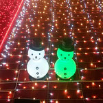 JR大阪駅の時空の広場ではクリスマス飾りの電飾が印象に残りました。 ・師走かな電飾なりし雪達磨(和良)