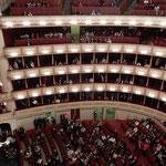 ウィーンの国立オペラ座でオペラ「カプリッチョ」を観ました。     ・ビール飲み寝てしまひたるオペラかな(和良)