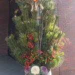 大塚ホールディングス株式会社の新年賀詞交歓会に行ってきました。・門松の迎へてくれし交歓会(和良)
