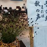 徳島県俳句連盟の大会が吾亦紅または秋の声を席題に開かれました。 ・吾亦紅ばかりといふは哀れなる(和良)
